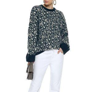 Current/Elliot Cali brushed leopard sweater